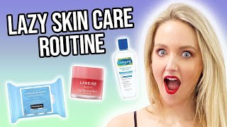Skincare Routine for Lazy Girls!