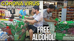 COVID-19 in the PH, Buying the ENTIRE ALCOHOL Display to Give Away to Our KABABAYAN  🇵🇭