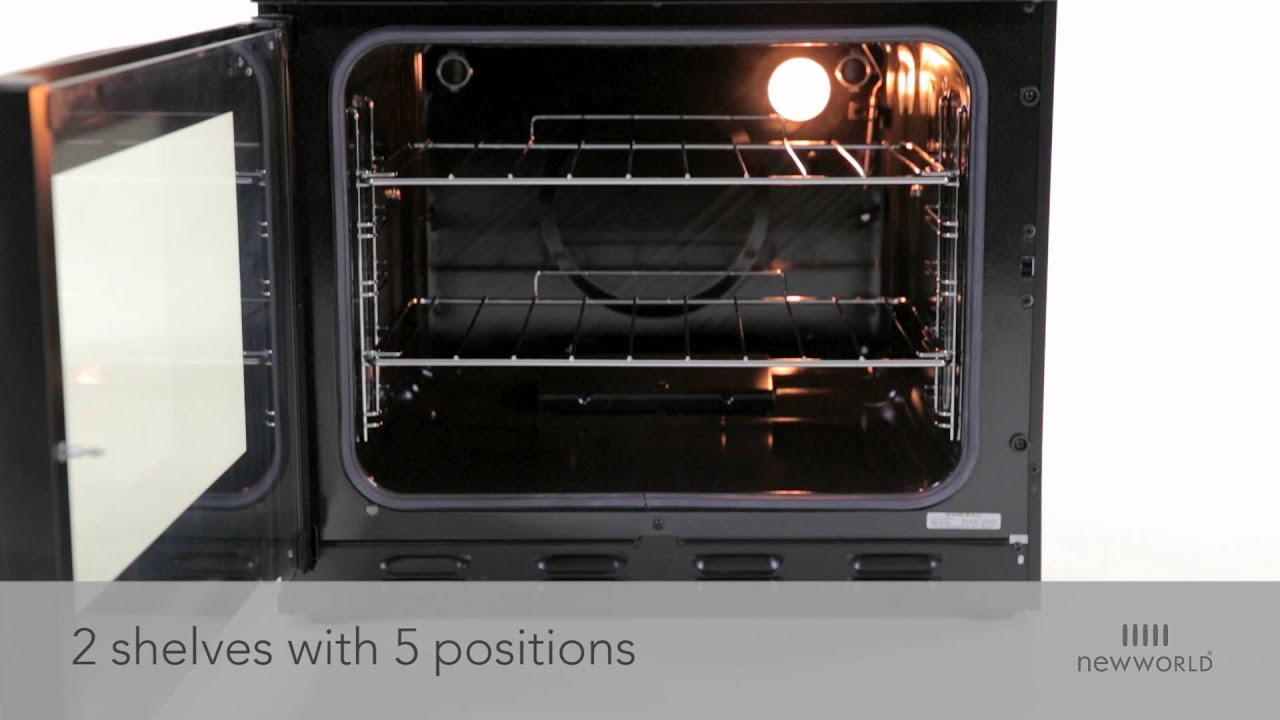 New World Nw601gdol Gas Double Oven