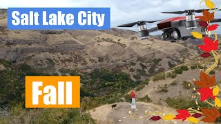 DJI Spark Flight Salt Lake City in the Fall