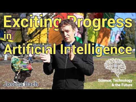 Exciting progress in Artificial Intelligence – Joscha Bach