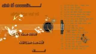 Tuyển tập  Acoustic hay - Album Sinh tố Acoustic (frappe Acoustic)