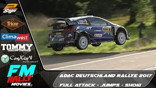 ADAC Deutschland Rallye 2017 | Full Attack | FM rallymovies [HD]
