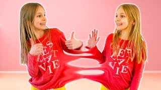 Amelia and Avelina compilation Tuesday with a clone adventure and a magic apple dance challenge