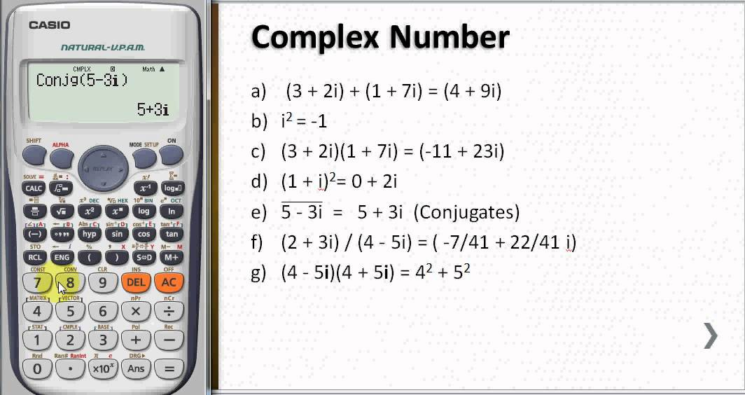 Complex Number - YouTube