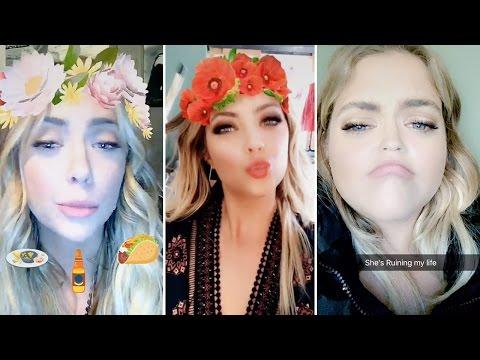Ashley Benson | Snapchat Videos | October 13th 2016 | ft Shay Mitchell