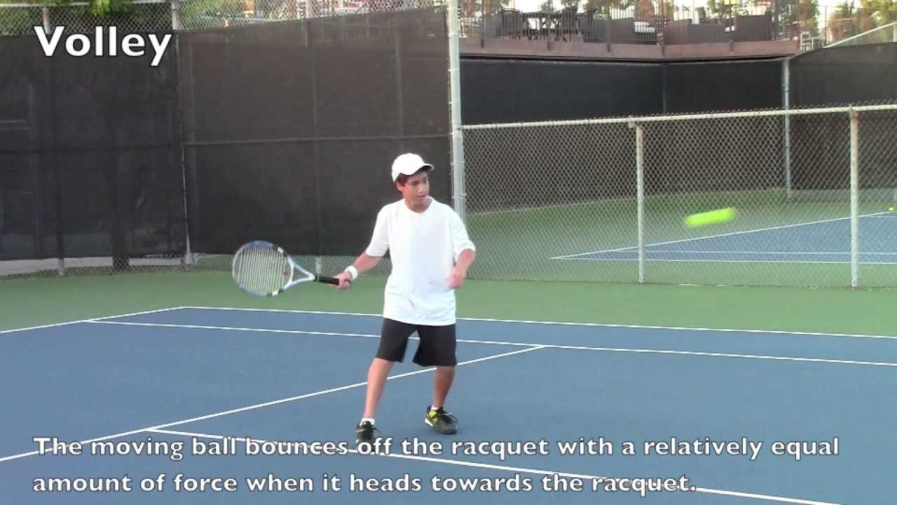 Newton's Laws Of Motion In Tennis YouTube