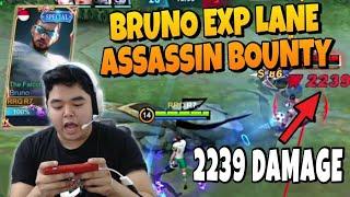 XIN KAGET LIAT GW BRUNO EXP LANE ! SEKALI TENDANG 2239 ! NANGIS DARAH