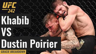 UFC 242 Khabib Nurmagomedov vs. Dustin Poirier (Full Fight Gracie Breakdown)