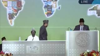 English Speech: Progress of Islam Ahmadiyyat depite the storms of opposition