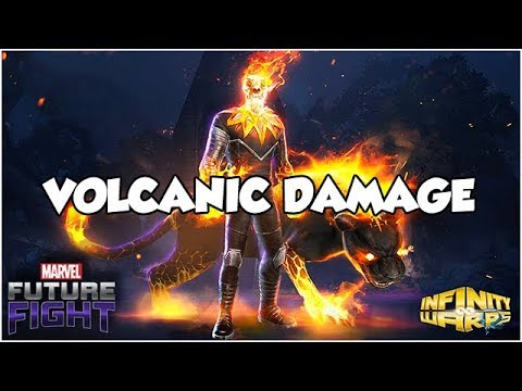 T2 Ghost Panther Build & VOLCANIC WBU Gameplay! - Marvel Future Fight