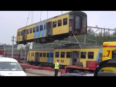 Afvoer mat 64 848 naar de sloper in Amsterdam