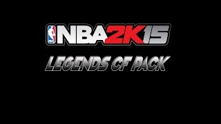 NBA 2k15 Legends CF Pack 1 Trailer HD 60fps