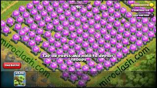 ⚔5000👽 globins👽 vs full 🥌base elixir⚔stroge most funny attack in coc history