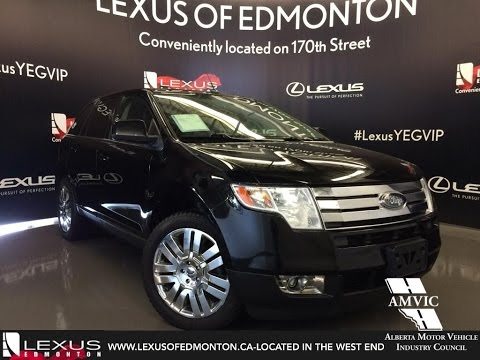 Used 2009 Black Ford Edge Limited AWD Walkaround Review | Airdrie Alberta