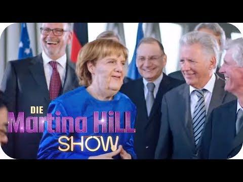 Angela Merkel betritt Neuland | Die Martina Hill Show | SAT.