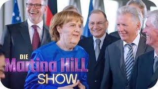 Kanzlerin Angela Merkel betritt Neuland