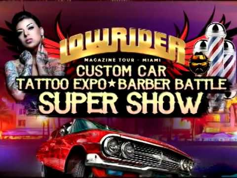 2017 Miami Lowrider Car Show Commercial Video