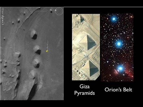 Pyramids Similar to Egypts Giza found on Google Mars