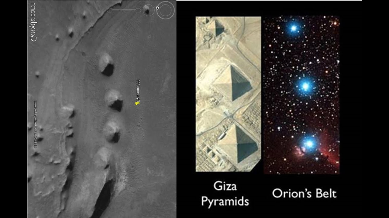 Image result for mars pyramids exactly like earth's