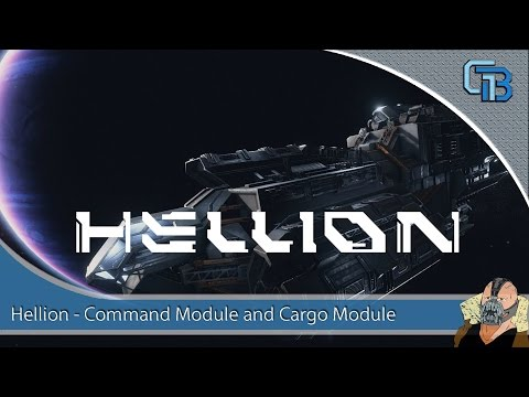HELLION -  Command Module and Cargo Module Tour and Grapple