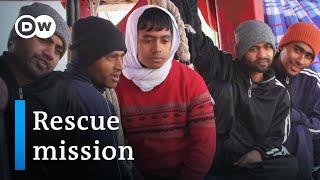 Ocean Viking rescue ship: Lifesavers at sea   DW Documentary