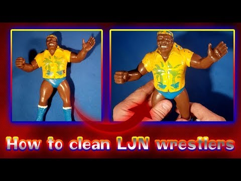 How to Clean LJN Wrestler Figures