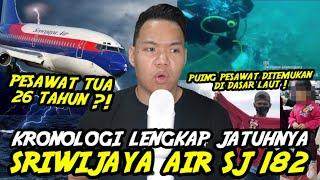 KRONOLOGI LENGKAP DAN UPDATE JATUHNYA PESAWAT SRIWIJAYA AIR SJ 182 !!!