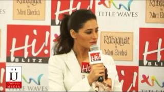 Nargis Fakhri Talks In Her Cute English Accent And Unveils Her Cover For Hi Blitz Magzine
