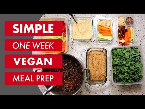 Plant Based Vegan Meal Prep (2018) : Whole Food Plant Based Recipes