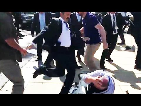 Turkish President's Goons Assault AMERICAN Protesters (VIDEO)