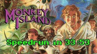 The Secret of Monkey Island Speedrun SS [OldPB] 33:53 (ScummVM)