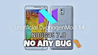 Nougat7.1 update rom no bug!  galaxy note3