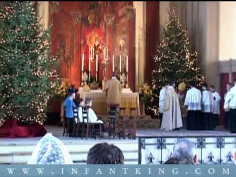 Pontifical Latin Mass, Epiphany 2009