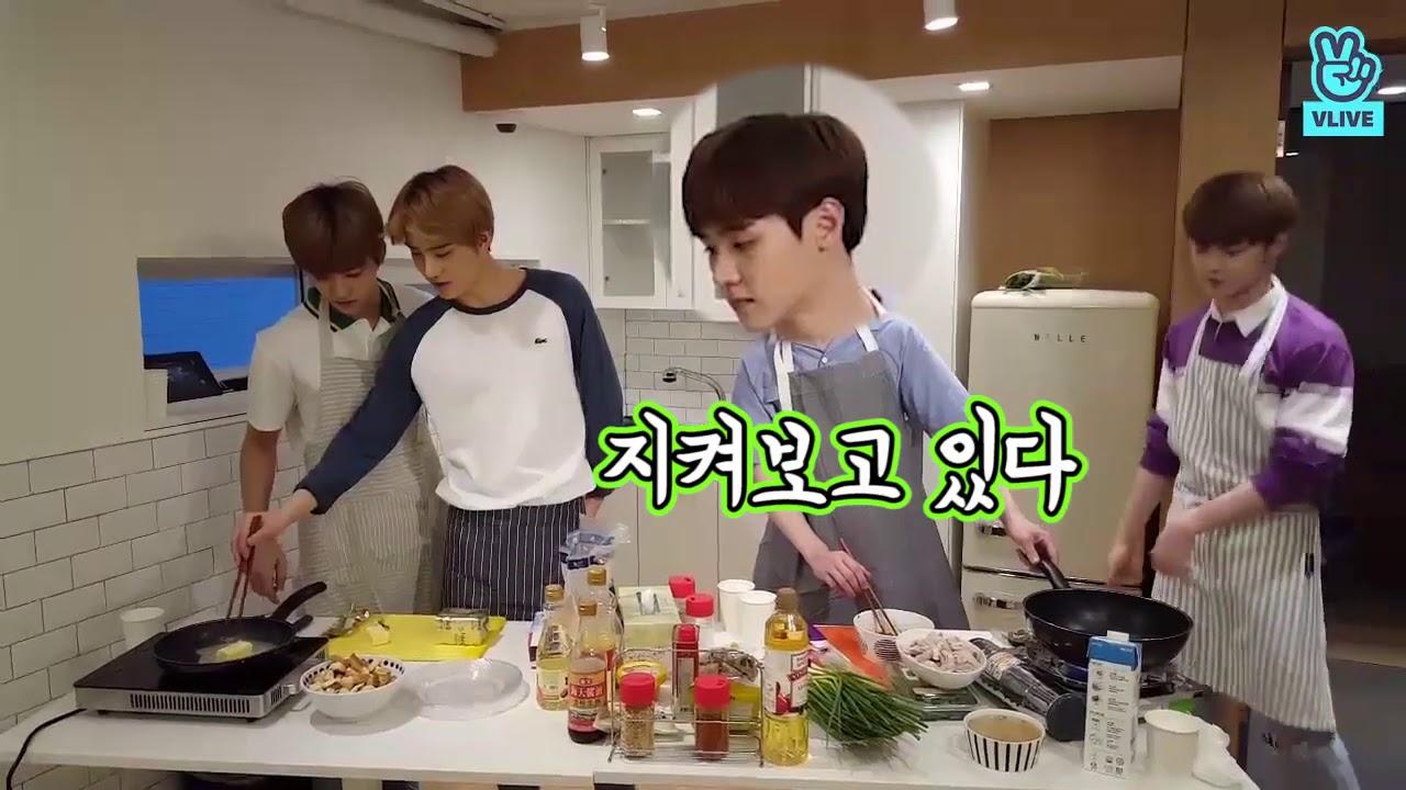 [V LIVE] NCT- 이것은 바로 쿤우식당(?) 쿤재식당(?) (feat  여기는 전화시티) (NCT's restaurant)