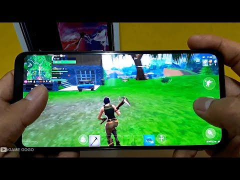 Samsung Galaxy A70 Test Game Fortnite Mobile