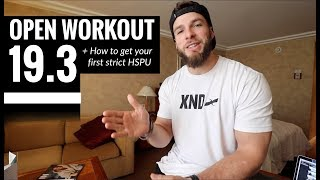 CROSSFIT OPEN WORKOUT 19.3: Strategy + Tips