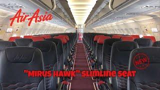 AirAsia BRAND NEW Seat   AK419 Flight Experience   Bandung to Kuala Lumpur