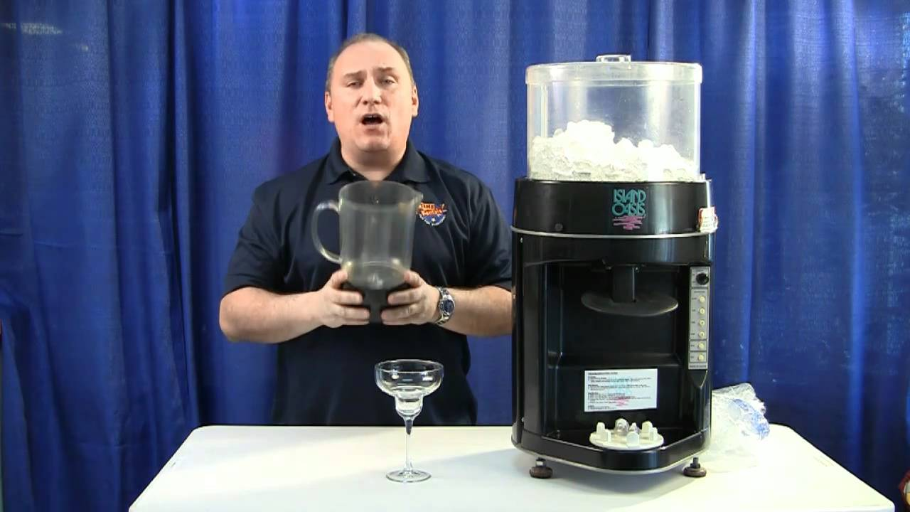 How To Setup And Operate A Frozen Drink Machine Youtube