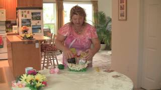DIY How to make a Mothers Day Gift Basket
