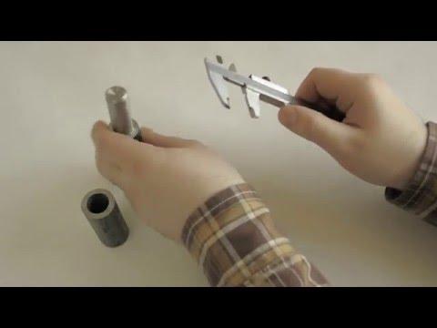 Как измерить диаметр резьбы штангенциркулем