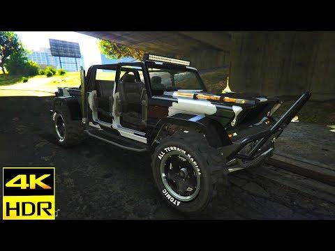 JEEP CONCEPT 2019 GTA 5 Online  Canis Kamacho Customization SUV 4K