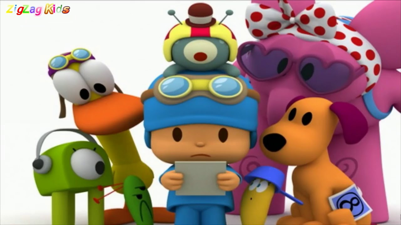 Pocoyo Racing Championship All Cutscenes
