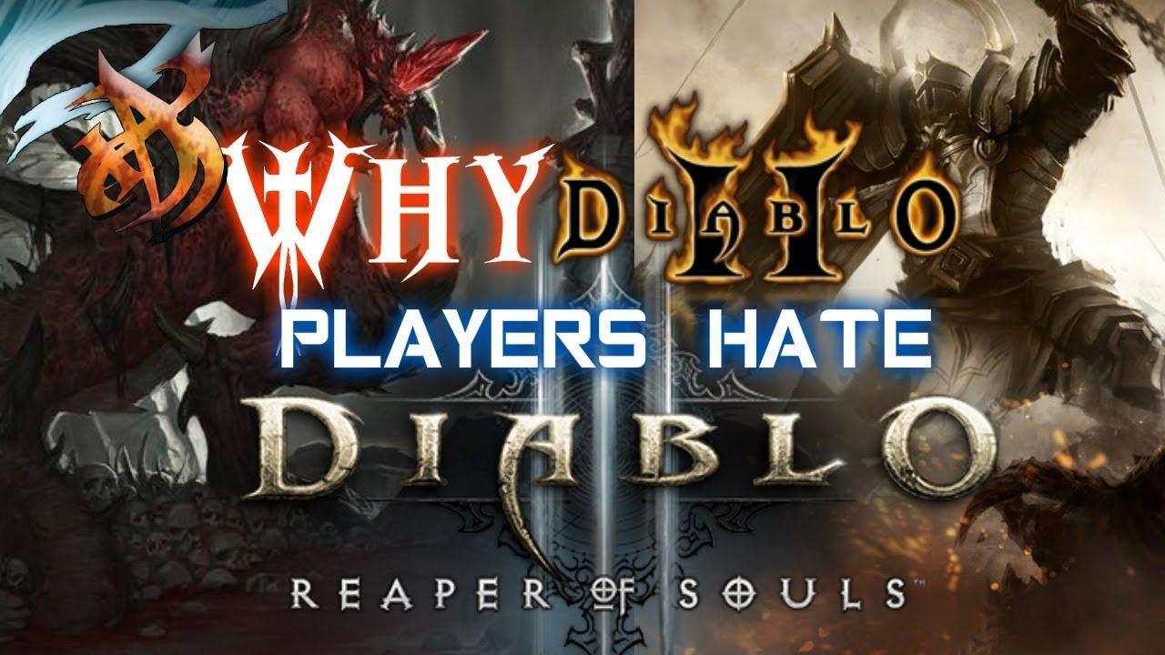 Why Diablo 2 Players Hate Diablo 3 - YouTube