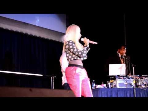 Nicki Minaj at Villanova Hoops Mania
