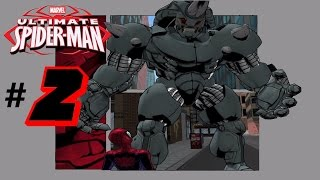 Let's Play Ultimate Spider-Man (PC Gameplay) - (1080p) Part 2 RHINO BOSS FIGHT!