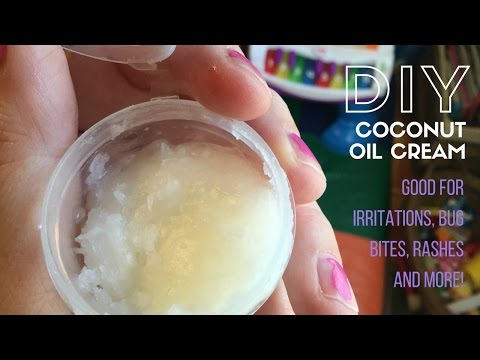 DIY Coconut Oil Cream || Calming, Helps with Itching, Rashes