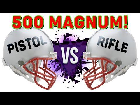 500 S&W Magnum Rifle Vs Pistol - The Ammo Show