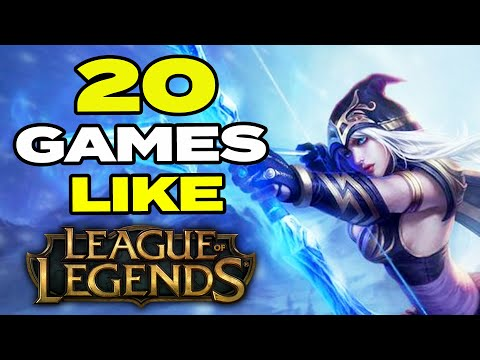 TOP 20 BEST Games Like League Of Legends For Android & IOS | MOBA LOL