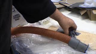 Piper Supercub Widebody refurbishment: inside pully covers